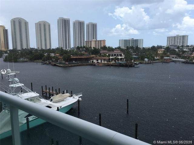 400 Sunny Isles Blvd 417 + DOCK SLIP, Sunny Isles Beach, FL 33160 (MLS #A11046706) :: The Rose Harris Group
