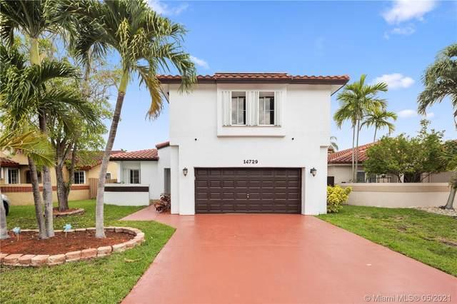 14729 SW 113th Ln, Miami, FL 33196 (MLS #A11047302) :: Team Citron
