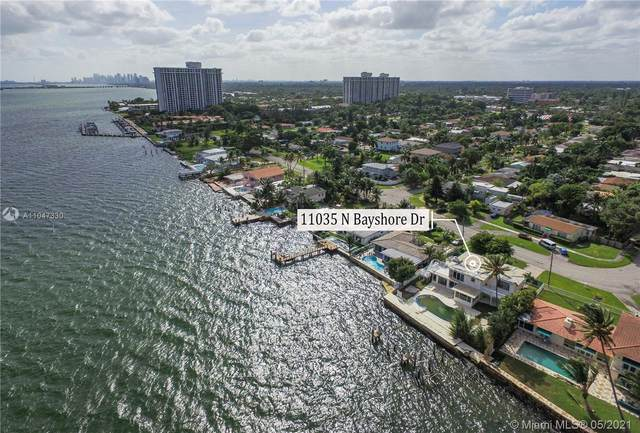 11035 N Bayshore Dr, North Miami, FL 33161 (MLS #A11047330) :: The Riley Smith Group