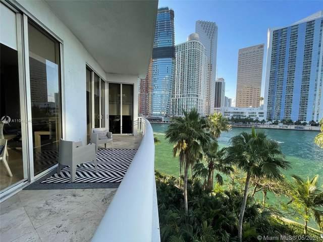 901 Brickell Key Blvd #508, Miami, FL 33131 (MLS #A11047648) :: The Rose Harris Group