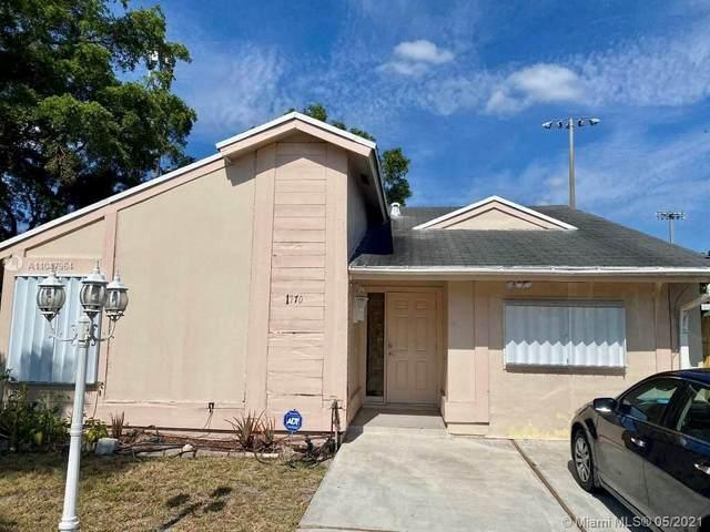 1770 SW 87th Ter, Miramar, FL 33025 (MLS #A11047964) :: Berkshire Hathaway HomeServices EWM Realty