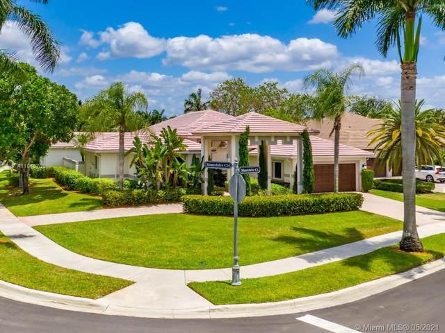 2540 Montclaire Ct, Weston, FL 33327 (MLS #A11048788) :: Team Citron