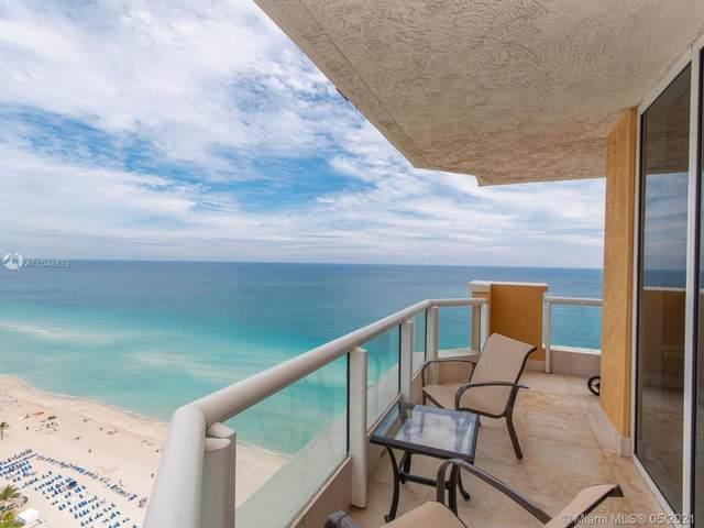 17875 Collins Ave #2701, Sunny Isles Beach, FL 33160 (MLS #A11048875) :: Berkshire Hathaway HomeServices EWM Realty