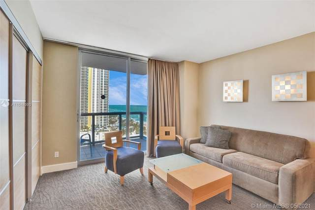 18683 Collins Ave #1406, Sunny Isles Beach, FL 33160 (MLS #A11048990) :: The Rose Harris Group