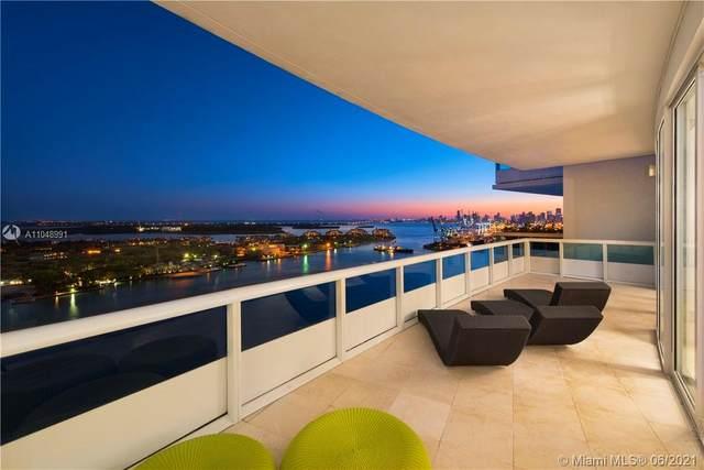 1000 S Pointe Dr P2803, Miami Beach, FL 33139 (MLS #A11048991) :: The Rose Harris Group