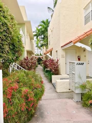 1337 Euclid Ave #102, Miami Beach, FL 33139 (MLS #A11049012) :: The Teri Arbogast Team at Keller Williams Partners SW