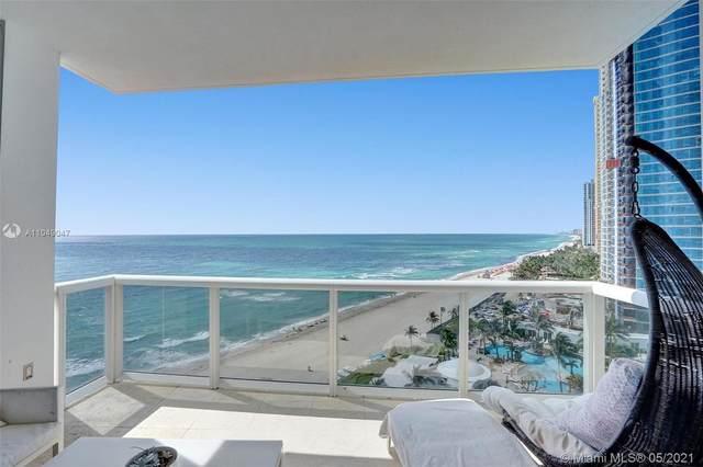 18101 Collins Ave #1405, Sunny Isles Beach, FL 33160 (#A11049047) :: Posh Properties
