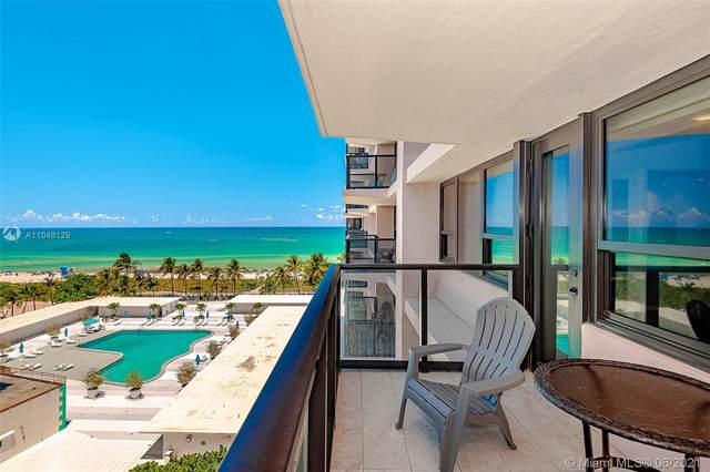 5225 N Collins Ave #910, Miami Beach, FL 33140 (MLS #A11049129) :: The Rose Harris Group