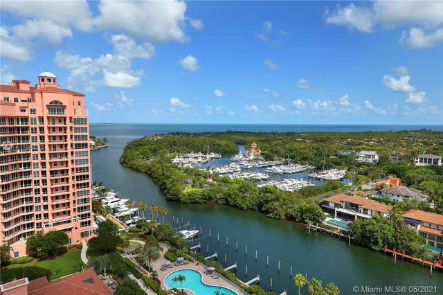 60 Edgewater Dr Ph1d, Coral Gables, FL 33133 (MLS #A11049283) :: The Rose Harris Group