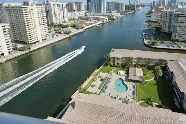 2602 E Hallandale Beach Blvd R1903, Hallandale Beach, FL 33009 (#A11049630) :: Posh Properties