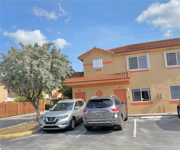 17322 NW 74th Ave #101, Hialeah, FL 33015 (MLS #A11049635) :: Albert Garcia Team