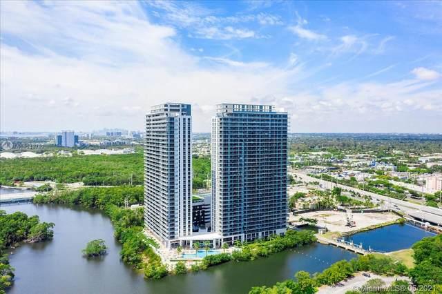 16385 Biscayne Blvd #316, North Miami Beach, FL 33160 (#A11049782) :: Posh Properties