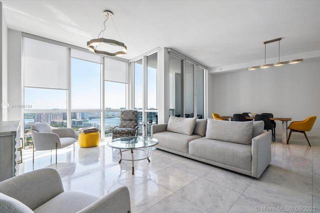 18201 Collins Ave #4207, Sunny Isles Beach, FL 33160 (MLS #A11050124) :: The Rose Harris Group