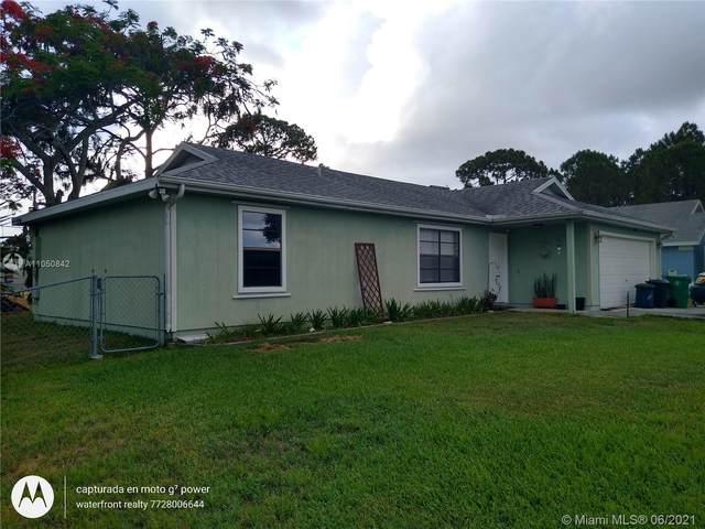 766 NW Rainbow St, Port Saint Lucie, FL 34983 (MLS #A11050842) :: Douglas Elliman