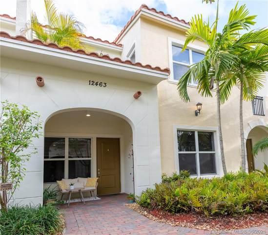 12463 NW 17th Ct #12463, Pembroke Pines, FL 33028 (MLS #A11050849) :: Berkshire Hathaway HomeServices EWM Realty