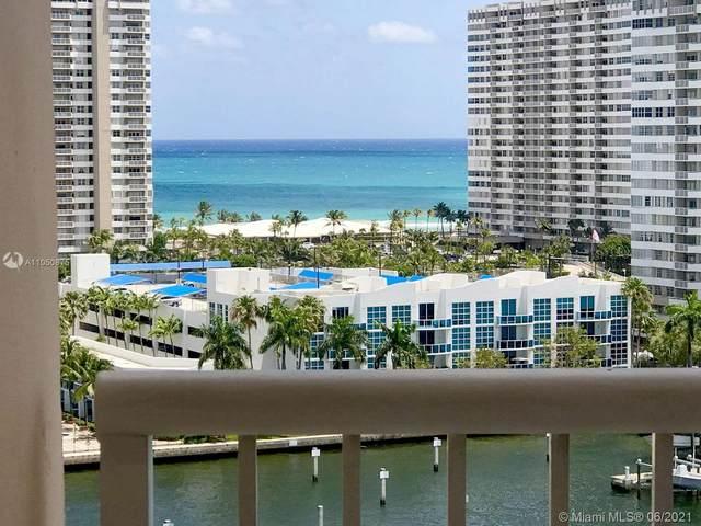 121 Golden Isles Dr #1207, Hallandale Beach, FL 33009 (#A11050875) :: Posh Properties