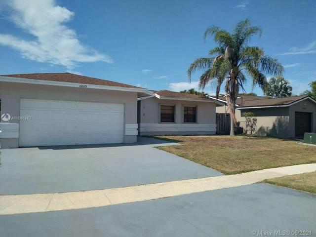 16675 SW 5th Way, Weston, FL 33326 (MLS #A11051262) :: The Riley Smith Group