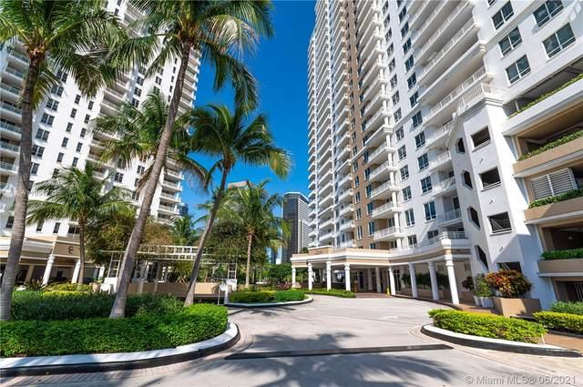 801 Brickell Key Blvd #1805, Miami, FL 33131 (MLS #A11051721) :: The Howland Group