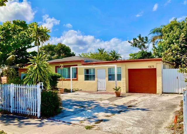 465 NE 157th Ter, Miami, FL 33162 (MLS #A11052038) :: The Riley Smith Group