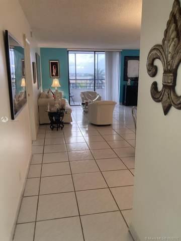 600 Three Islands Blvd #507, Hallandale Beach, FL 33009 (#A11052282) :: Posh Properties