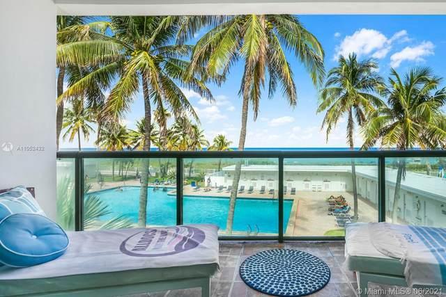 6345 Collins Ave Th-11, Miami Beach, FL 33141 (MLS #A11052432) :: Dalton Wade Real Estate Group