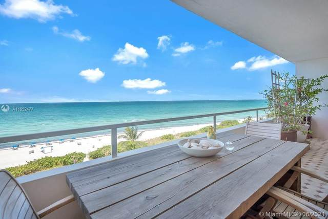 5555 Collins Ave 8F, Miami Beach, FL 33140 (MLS #A11052477) :: The Rose Harris Group