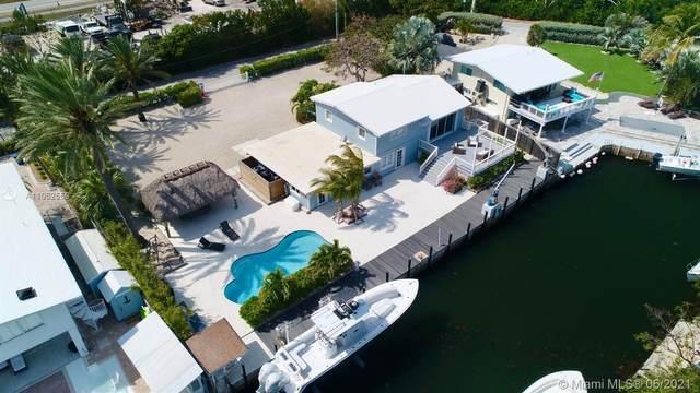 136 Old Fashion Rd, Key Largo, FL 33070 (MLS #A11052559) :: Team Citron
