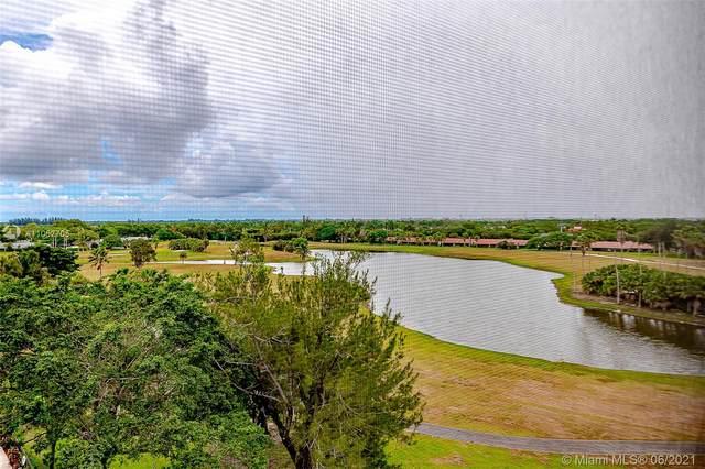16300 Golf Club Rd #805, Weston, FL 33326 (MLS #A11052705) :: Re/Max PowerPro Realty