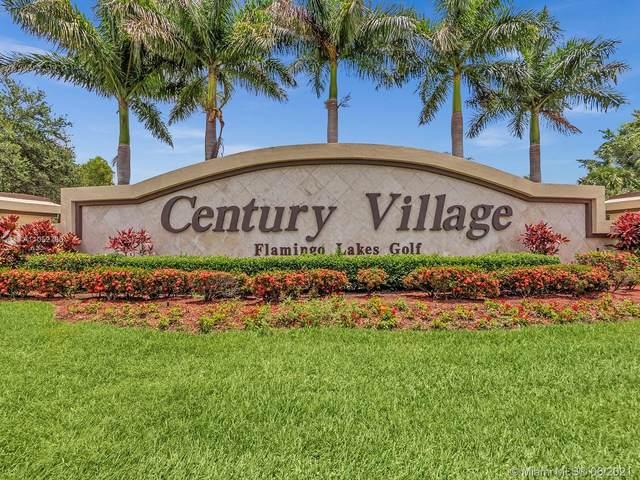 571 SW 142nd Ave 203O, Pembroke Pines, FL 33027 (#A11052780) :: Dalton Wade