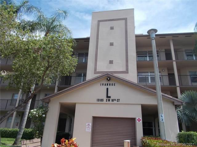 13105 SW 16th Ct 213L, Pembroke Pines, FL 33027 (MLS #A11052907) :: Re/Max PowerPro Realty