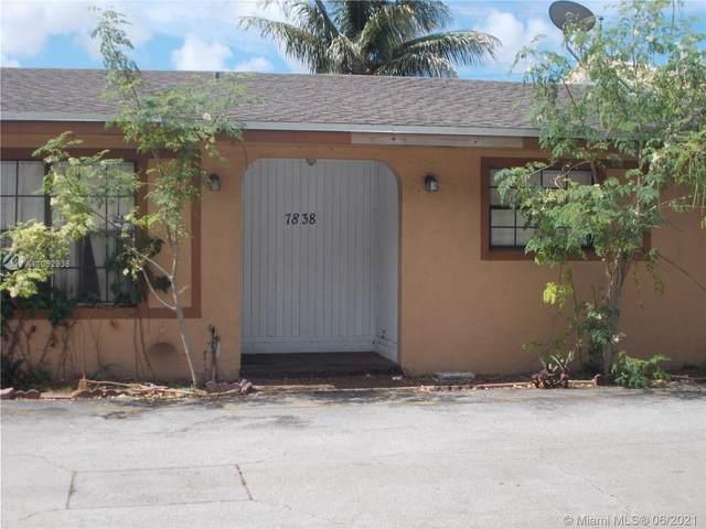 7838 Pembroke Rd #7838, Miramar, FL 33023 (MLS #A11052938) :: Douglas Elliman