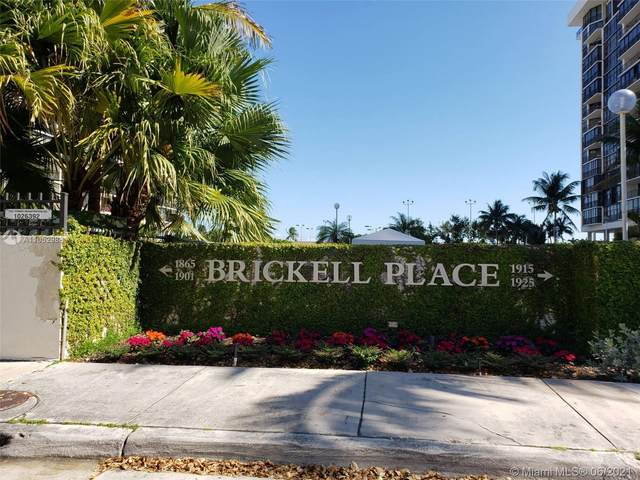 1901 Brickell Ave Slip 1, Miami, FL 33129 (MLS #A11052988) :: The Rose Harris Group