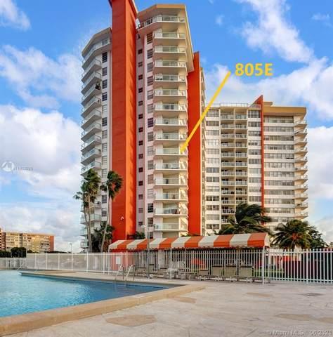 1351 NE Miami Gardens Dr 805E, Miami, FL 33179 (MLS #A11053025) :: Castelli Real Estate Services
