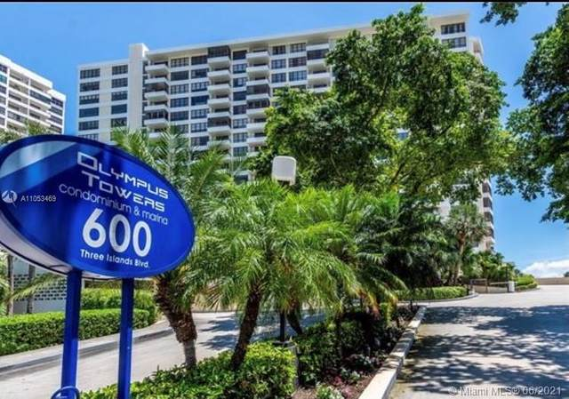 600 Three Islands Blvd #505, Hallandale Beach, FL 33009 (MLS #A11053469) :: Douglas Elliman