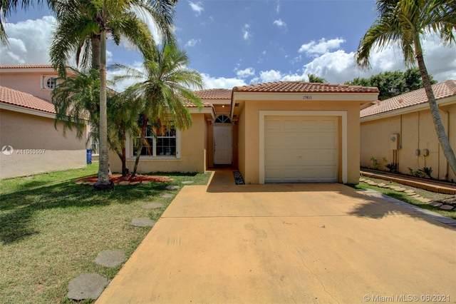 17416 SW 20th St, Miramar, FL 33029 (MLS #A11053507) :: Team Citron