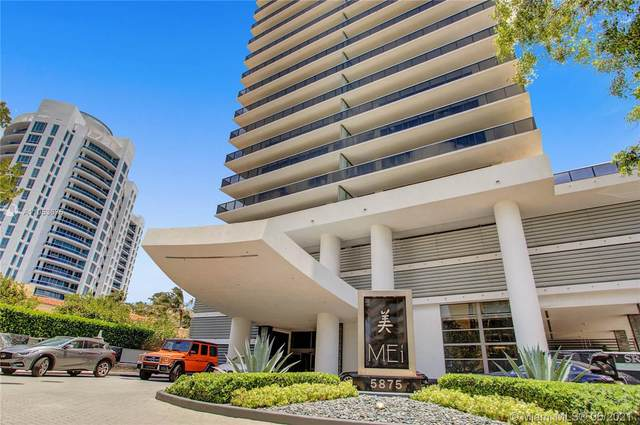 5875 Collins Ave #601, Miami Beach, FL 33140 (MLS #A11053675) :: The Rose Harris Group