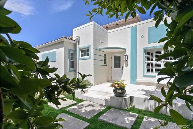 4321 Nautilus Dr, Miami Beach, FL 33140 (MLS #A11053866) :: Team Citron