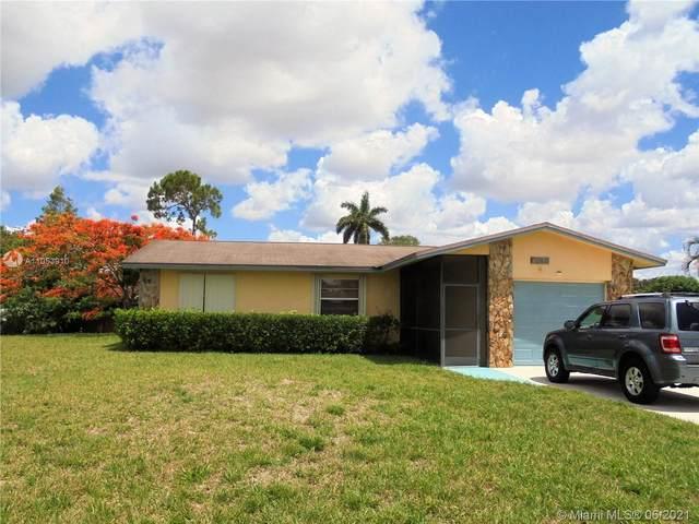 12821 SW 10th Mnr, Davie, FL 33325 (MLS #A11053910) :: Green Realty Properties
