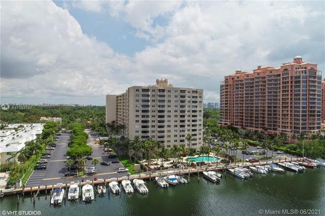 90 Edgewater Dr #602, Coral Gables, FL 33133 (MLS #A11054087) :: Berkshire Hathaway HomeServices EWM Realty