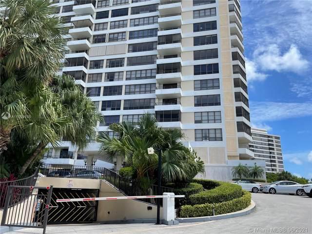 600 Three Islands Blvd #809, Hallandale Beach, FL 33009 (#A11054135) :: Posh Properties