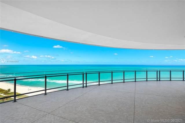8701 Collins Ave #1501, Miami Beach, FL 33154 (#A11054302) :: Posh Properties