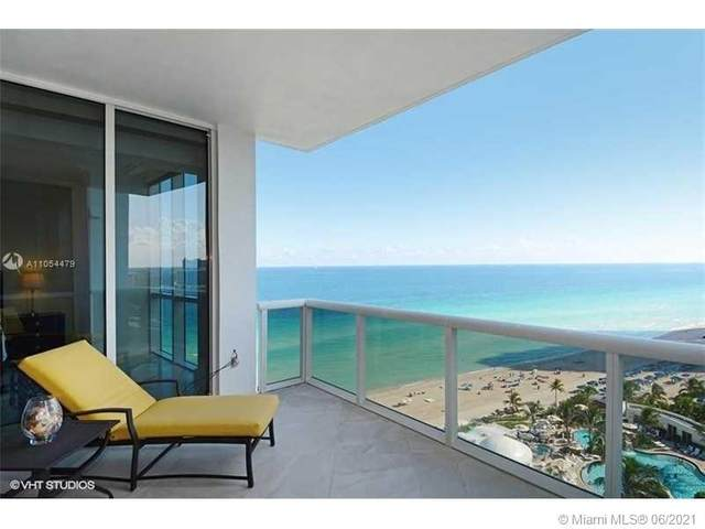 18101 Collins #1602, Sunny Isles Beach, FL 33160 (MLS #A11054479) :: The Rose Harris Group