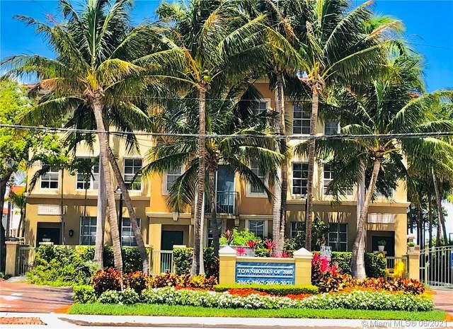 2069 S Ocean Dr Th13, Hallandale Beach, FL 33009 (MLS #A11054480) :: GK Realty Group LLC