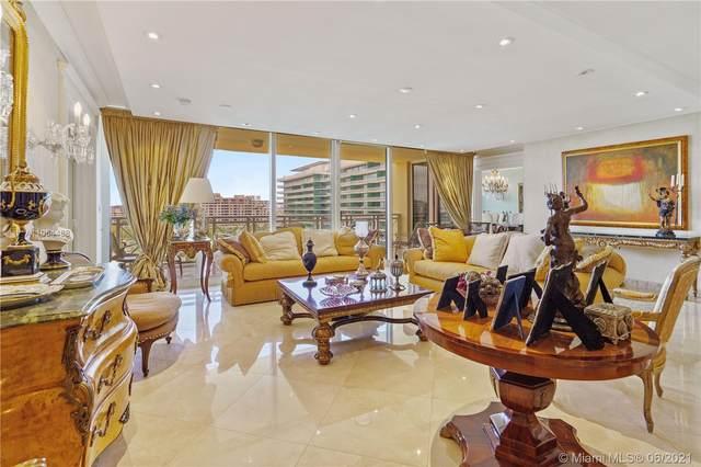 430 Grand Bay Dr #1008, Key Biscayne, FL 33149 (MLS #A11054488) :: Berkshire Hathaway HomeServices EWM Realty