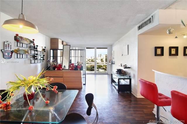 1500 Bay Rd #606, Miami Beach, FL 33139 (MLS #A11054834) :: Berkshire Hathaway HomeServices EWM Realty