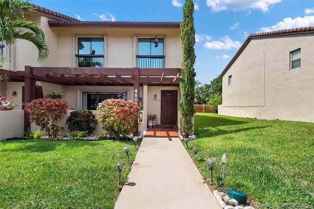 4800 Sheridan St #1, Hollywood, FL 33021 (#A11055199) :: Dalton Wade