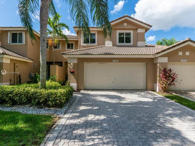 15868 SW 12th St, Pembroke Pines, FL 33027 (MLS #A11055216) :: Re/Max PowerPro Realty
