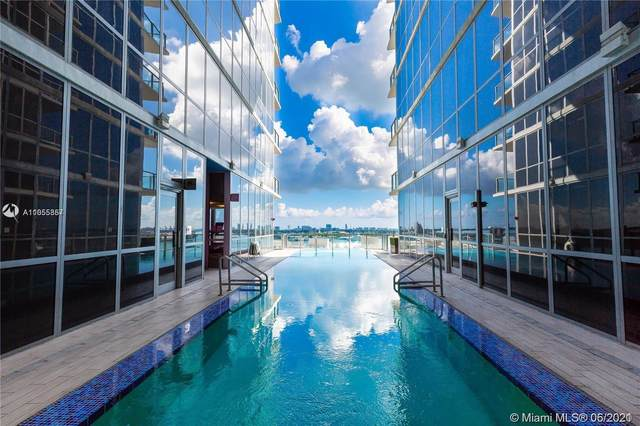 1100 Biscayne Blvd #3105, Miami, FL 33132 (#A11055357) :: Posh Properties