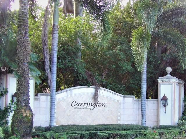 4844 N State Road 7 #2306, Coconut Creek, FL 33073 (MLS #A11055447) :: Berkshire Hathaway HomeServices EWM Realty