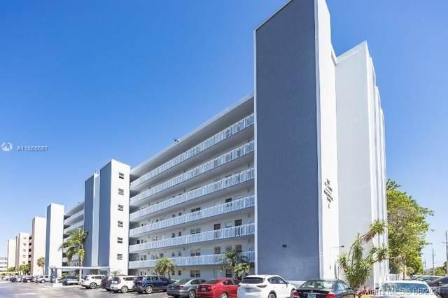 320 NE 12th Ave #207, Hallandale Beach, FL 33009 (MLS #A11055557) :: Berkshire Hathaway HomeServices EWM Realty